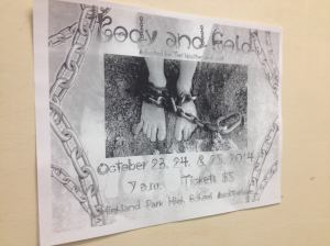 Body & Sold Poster